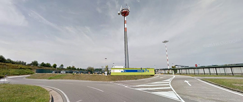 Parking available at Malpensa airport