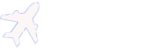 Malpensa Airport Travel Logo Image