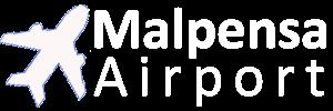Malpensa Airport Travel Logo Image