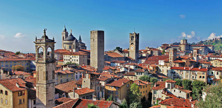 Ancient Bergamo - upper town