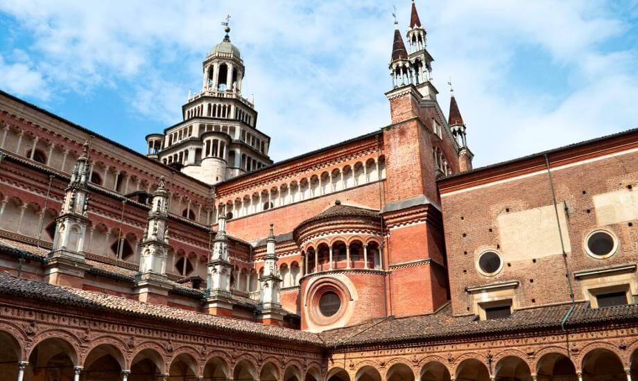 Italian Monastery Certosa di Pavia