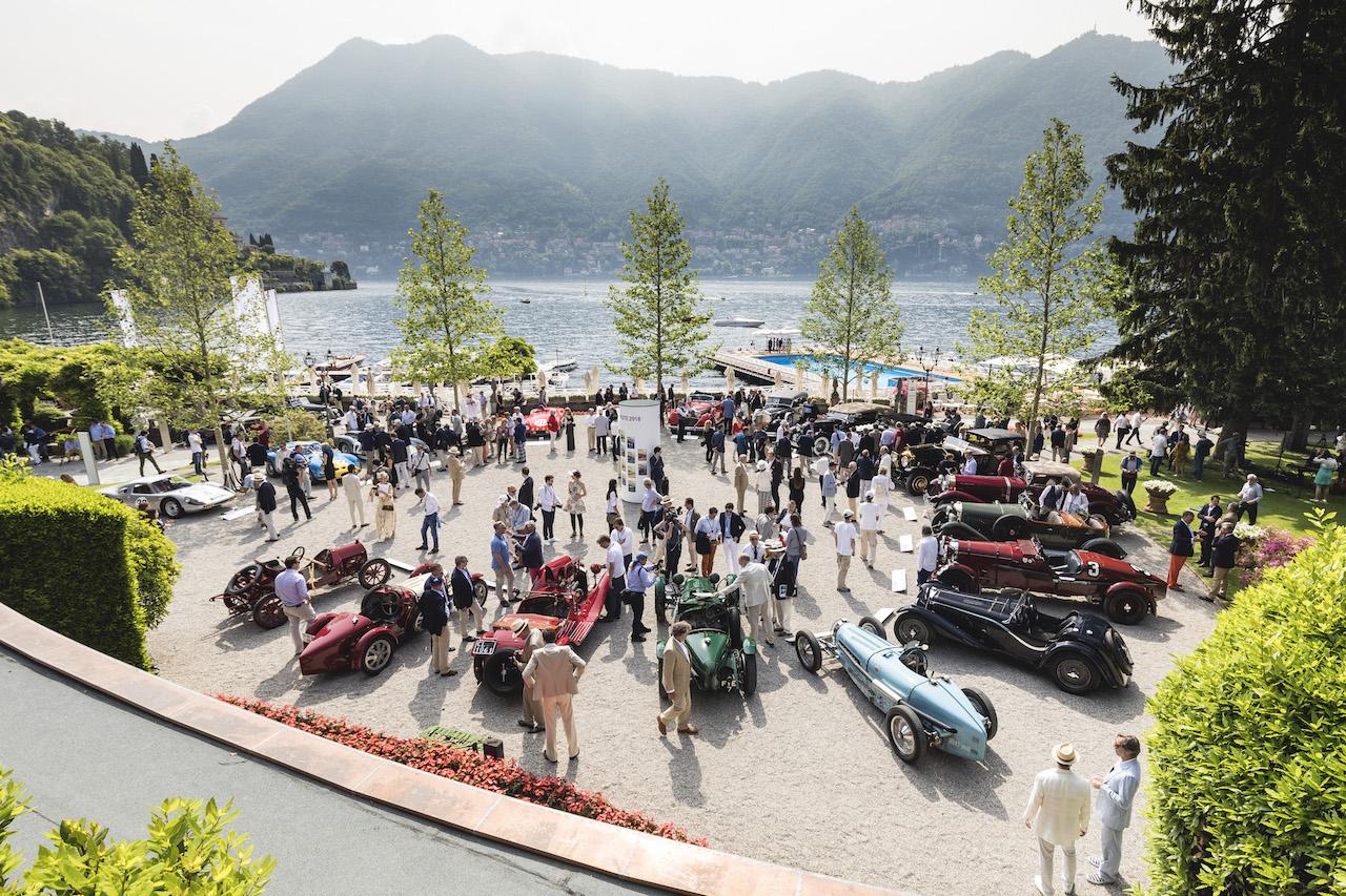 Vista of Concorso d'Eleganza Villa d'Este