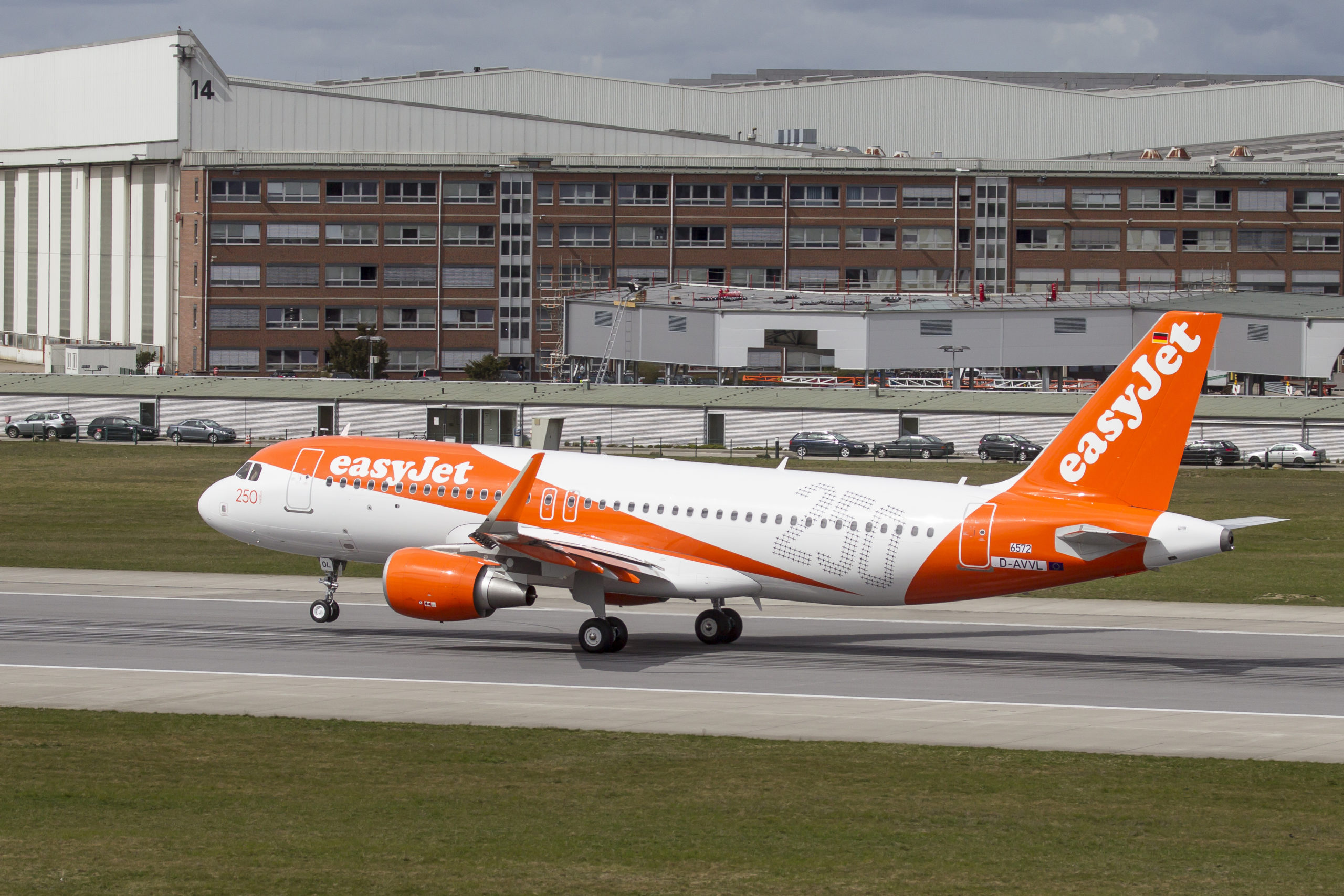 EasyJet on the runway