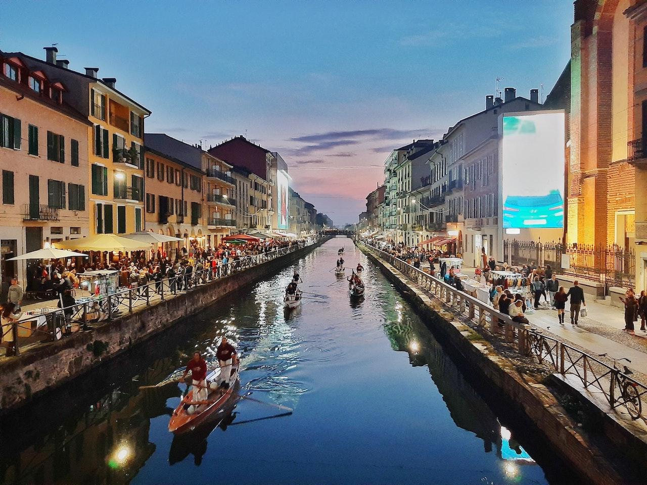 Navigli, Milan, Metropolitan City of Milan, Italy